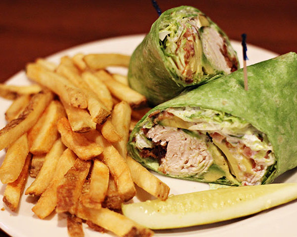 Turkey Avocado Spinach Wrap
